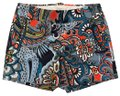 J.Crew Moonglow Paisley Dress Shorts Blue Image 0
