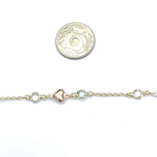 Other (852) 14k yellow gold anklet Image 3