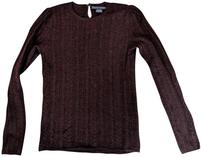Preload https://img-static.tradesy.com/item/25301726/ralph-lauren-knit-brown-sweater-0-1-650-650.jpg