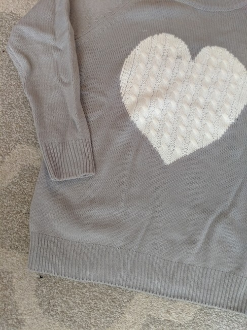 SheIn Love Richie Heart Sweater Image 1