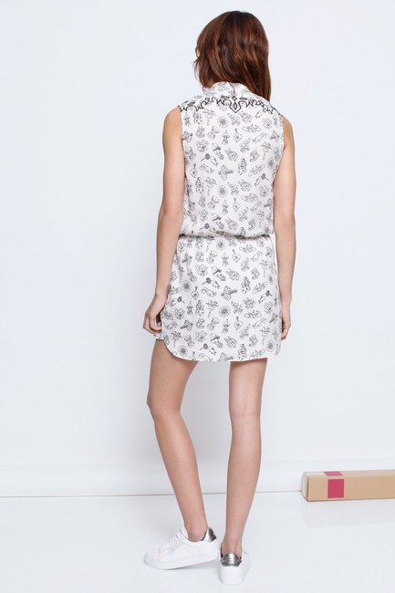 Zadig & Voltaire short dress WHITE on Tradesy Image 1