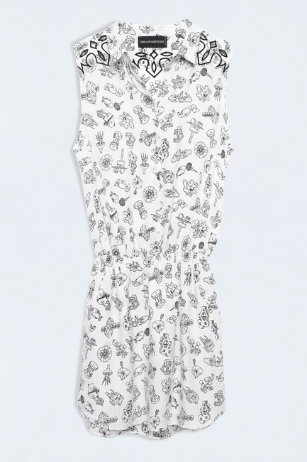 Zadig & Voltaire short dress WHITE on Tradesy Image 2