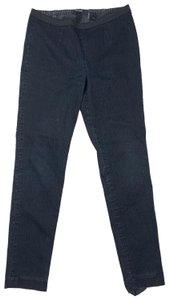 Tahari Cotton Straight Leg Jeans