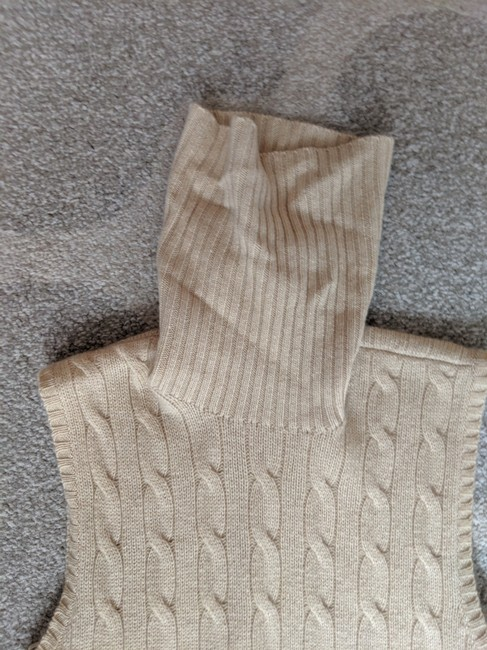 Ralph Lauren Black Label Cashmere Sleeveless Sweater Image 2