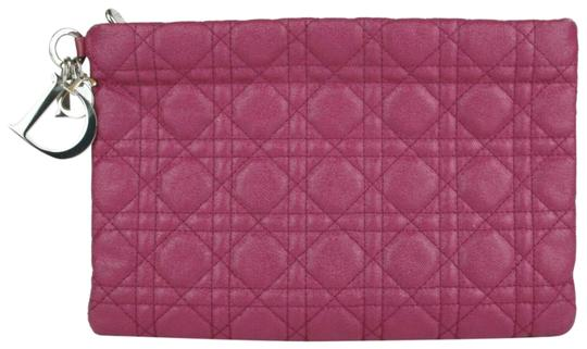 Preload https://img-static.tradesy.com/item/25301926/panerea-magenta-coated-canvas-clutch-0-1-540-540.jpg