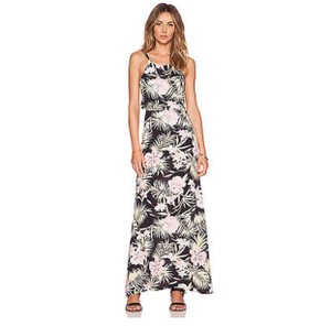 Black Maxi Dress by For Love & Lemons Maxi Floral Summer Cut-out Night Out