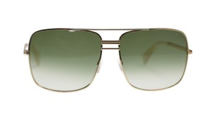 Céline Celine Sunglasses CL41808 J5g Gold With Green Gradient Lens