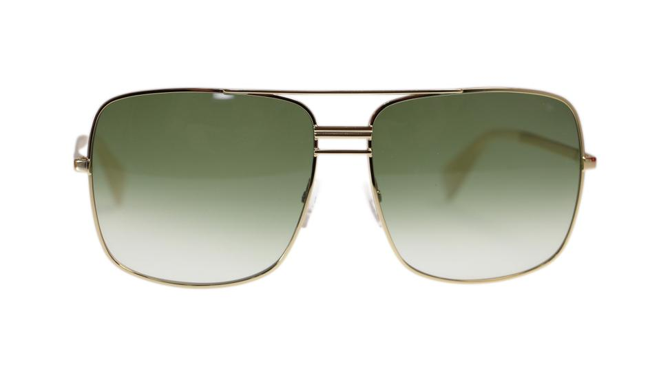 c31512433f Céline Celine Sunglasses CL41808 J5g Gold With Green Gradient Lens Image 0  ...