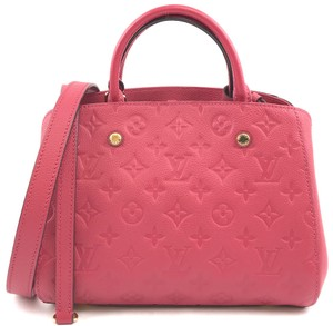 Louis Vuitton Lv Monogram Empreinte Montaigne Shoulder Bag