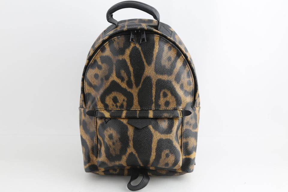 4e27d5ab08bd Louis Vuitton Palm Springs Limited Edition Wild Animal Multicolor ...