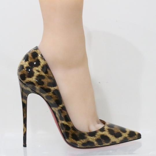 Christian Louboutin Brown Pumps Image 4
