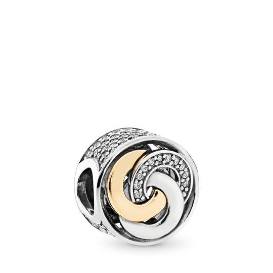 PANDORA Interlinked Circles Charm, Clear CZ Image 0