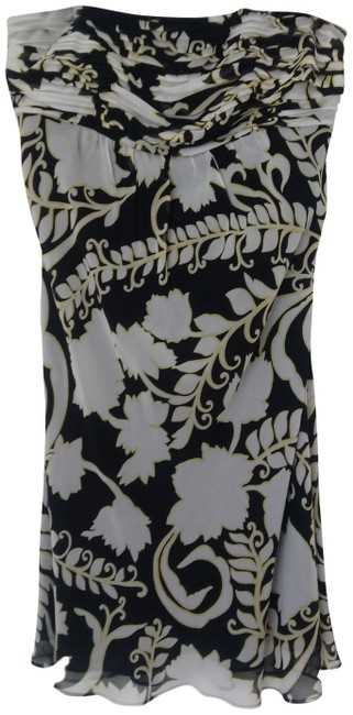 Preload https://img-static.tradesy.com/item/25302644/ann-taylor-navy-white-and-yellow-silk-strapless-mid-length-night-out-dress-size-10-m-0-1-650-650.jpg