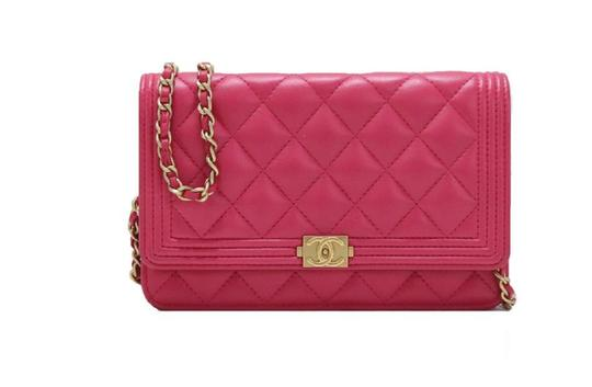 Preload https://img-static.tradesy.com/item/25302771/chanel-wallet-on-chain-classic-flap-boy-quilted-caviar-small-pink-leather-cross-body-bag-0-0-540-540.jpg