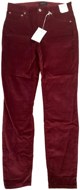 Item - Crimson Maple High-rise Toothpiuck In Velvet Skinny Jeans Size 25 (2, XS)