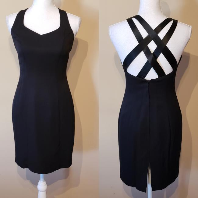 Item - Sexy Black Mid-length Night Out Dress Size 4 (S)