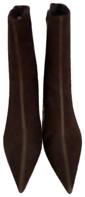 Item - Brown Pointed Boots/Booties Size US 8.5 Regular (M, B)