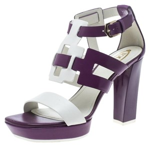 Tod's Leather Purple Sandals