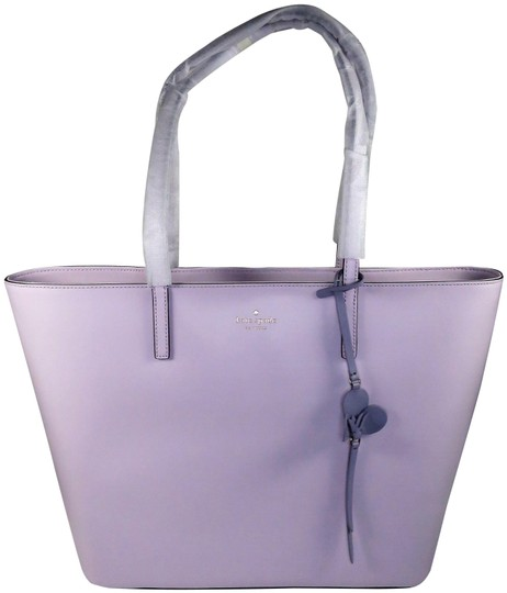 Kate Spade Leather New With Tags Tote in Peony Blush (Light Purple) Image 0