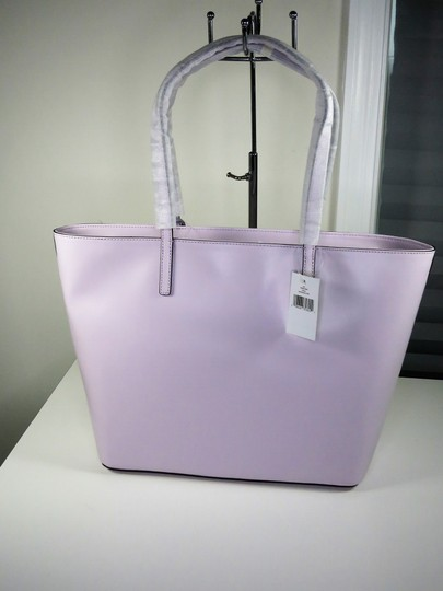 Kate Spade Leather New With Tags Tote in Peony Blush (Light Purple) Image 2