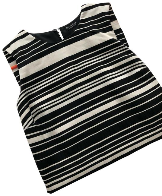Item - Na Black and White Top