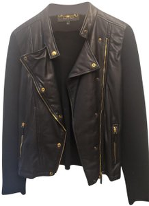 Gucci Wool Leather Jacket