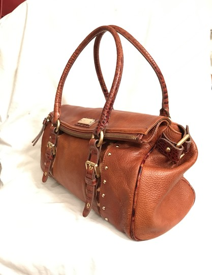 Brahmin Purse Handbag Tote Shoulder Large Satchel in Brown Image 1