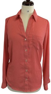 Outback Red Button Down Shirt Orange