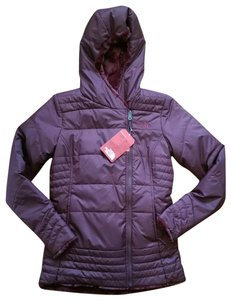 The North Face Reversible Fur-like Fleece Insulated Hooded Coat