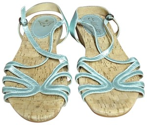 Miss Albright Silver Sandals