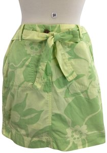 Lands' End Skirt Green