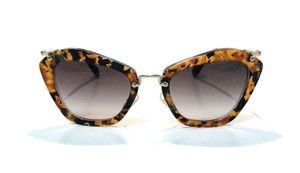 58fb36027858 Miu Miu Vintage New Condition Noir Cat Walk SMU10N DHF0A7 Free 3 Day  Shipping
