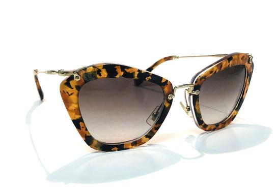 Miu Miu Vintage New Condition Noir Cat Walk SMU10N DHF0A7 Free 3 Day Shipping Image 7