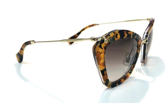 Miu Miu Vintage New Condition Noir Cat Walk SMU10N DHF0A7 Free 3 Day Shipping Image 8