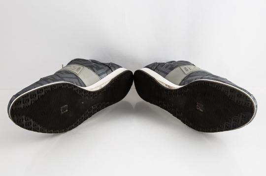 Fendi Silver Softy Zucca Sneakers Shoes Image 6