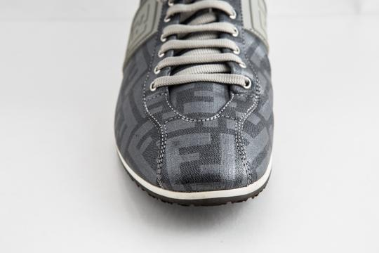Fendi Silver Softy Zucca Sneakers Shoes Image 7