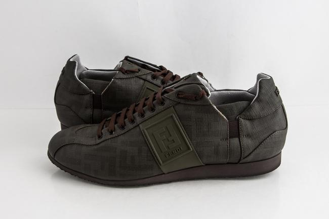 Item - Green Military Softy Zucca Sneakers Shoes