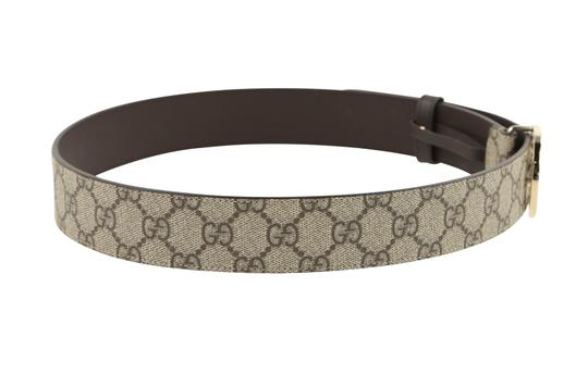 Gucci GG Supreme belt with G buckle Image 2