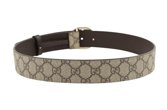 Gucci GG Supreme belt with G buckle Image 3