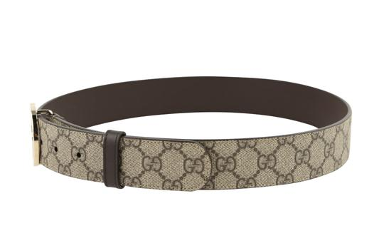 Gucci GG Supreme belt with G buckle Image 4