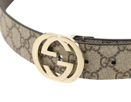Gucci GG Supreme belt with G buckle Image 6