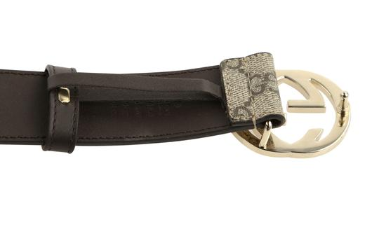 Gucci GG Supreme belt with G buckle Image 8