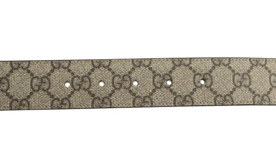 Gucci GG Supreme belt with G buckle Image 9