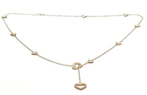 Tiffany & Co. Tiffany & Co. 925 Sterling Silver Heart Lariat Vintage Necklace