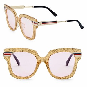 13ed7c853af Yellow Gucci Sunglasses - Up to 70% off at Tradesy