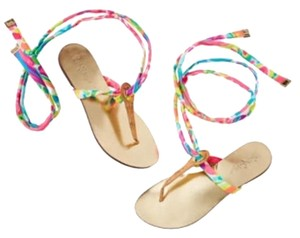 Lilly Pulitzer Gold Sandals