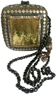 Mary Frances Beaded Tassels Chain Shoulder Bag