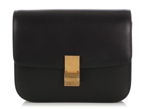 Céline Ce.q0326.09 Box Brass Noir Shoulder Bag