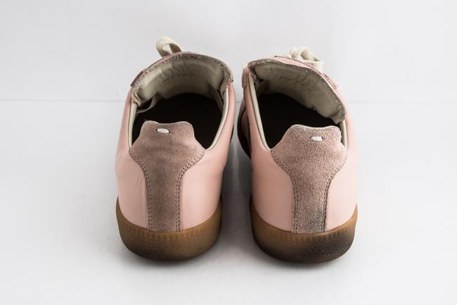 Maison Margiela Pink Replica Suede Leather Low-top Sneakers Shoes Maison Margiela Pink Replica Suede Leather Low-top Sneakers Shoes Image 5