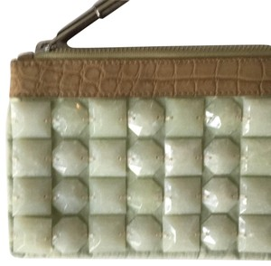 Burberry Prorsum light green/beige Clutch